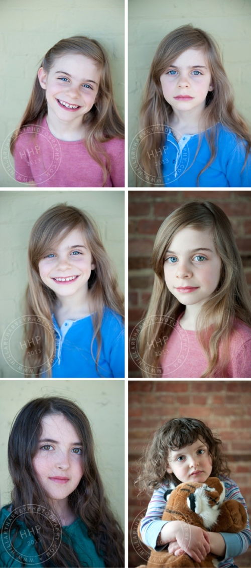 headshot collage