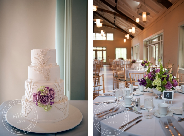 HHP ErinDan cake and tables