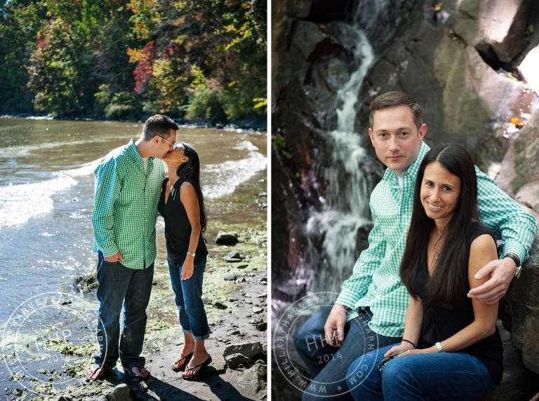 HHP kissing by water and portrait