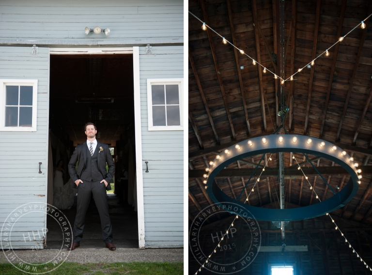 HHP groom and DIY chandelier
