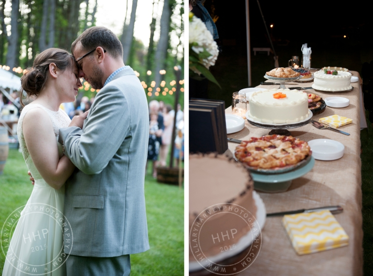 First Dance and Cakes